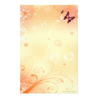🦋Butterflys and Bubbles Stationary Stationery