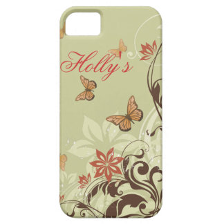 Butterfly's and Vines iPhone 5 Case