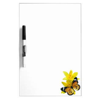 Butterfy Dry Erase Board