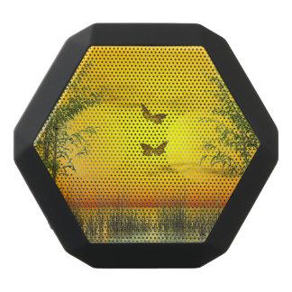 Butterlflies by sunset - 3D render Black Bluetooth Speaker