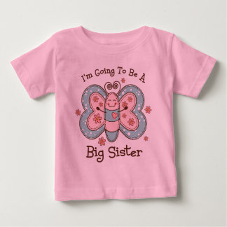 Butterly Future Big Sis Baby T-Shirt