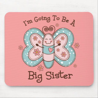 Butterly Future Big Sis Mouse Pad