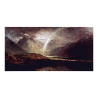 Buttermere Lake, With Partial View Of Cromackwater Customized Photo Card