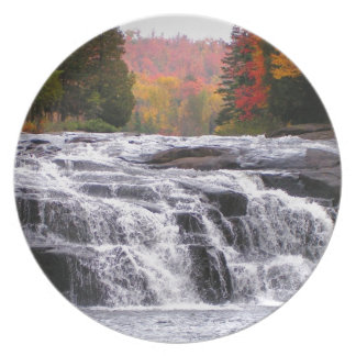 buttermilk falls adirondacks plate