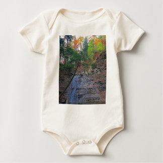 Buttermilk Falls Cuyahoga National Park Ohio Baby Bodysuit
