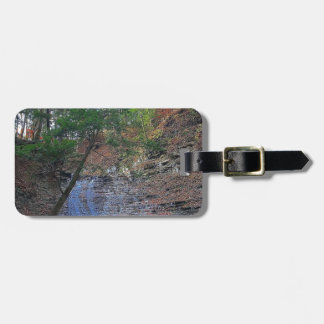 Buttermilk Falls Cuyahoga National Park Ohio Luggage Tag