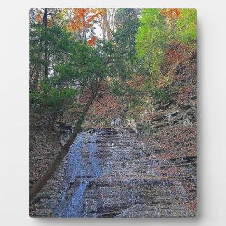 Buttermilk Falls Cuyahoga National Park Ohio Plaque