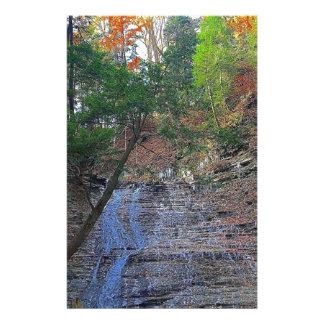 Buttermilk Falls Cuyahoga National Park Ohio Stationery