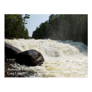 Buttermilk Falls, Long Lake, NY Postcard