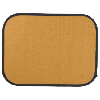 BUTTERSCOTCH (a sweet solid candy color) ~ Floor Mat