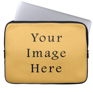 Butterscotch Caramel Yellow Color Trend Template Laptop Sleeve