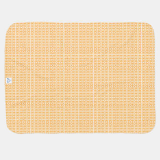 Butterscotch -Royalty-Plaid's_Baby-Blanket Baby Blanket