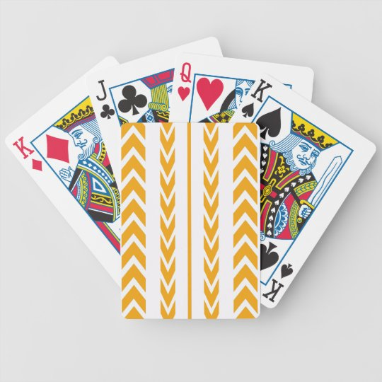 Butterscotch Tire Tread Bicycle Playing Cards