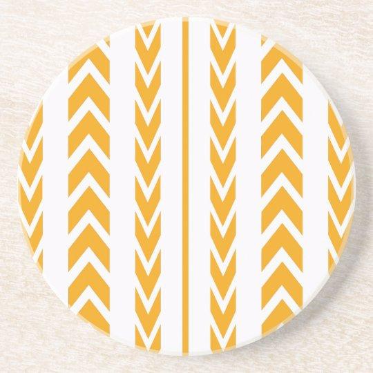 Butterscotch Tire Tread Coaster