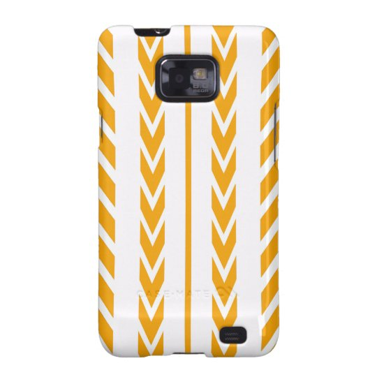Butterscotch Tire Tread Galaxy SII Cases