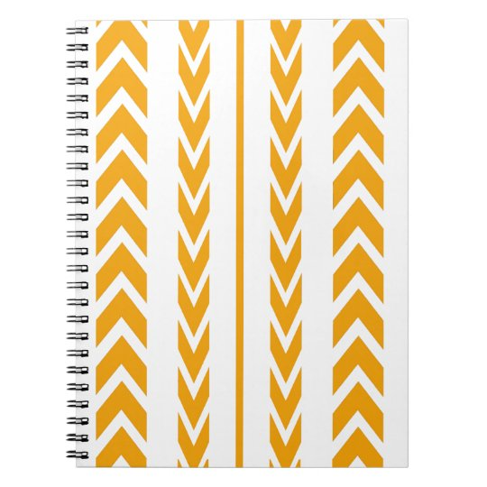 Butterscotch Tire Tread Notebooks