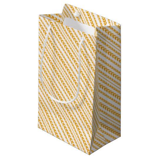 Butterscotch Tire Tread Small Gift Bag