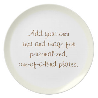 Buttery Beige Edge Plate Template