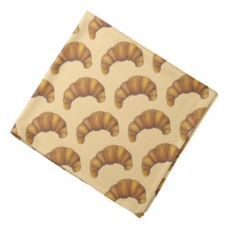 Buttery Flaky Croissant French Crescent Pastry Bandana