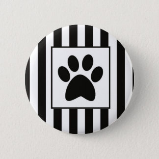 Buttom Patinha with stripes 6 Cm Round Badge
