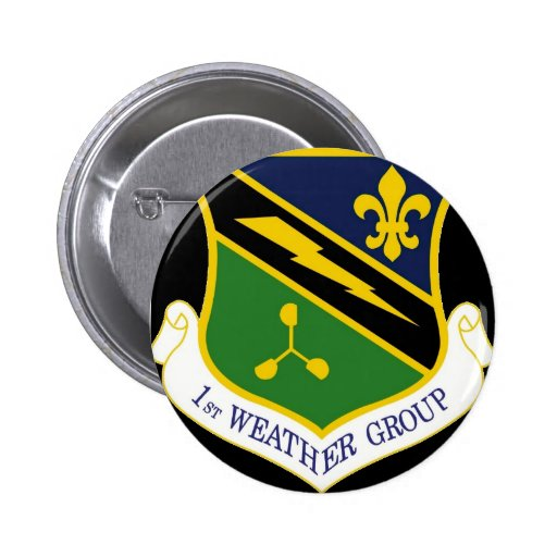 Button 1st Weather Group patch
