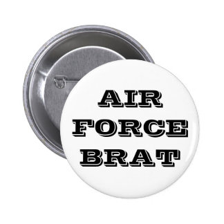 Button Air Force Brat