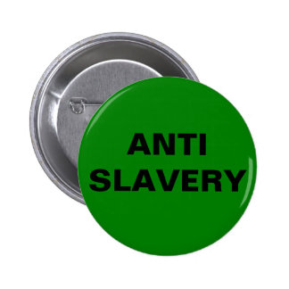 Button Anti Slavery Green