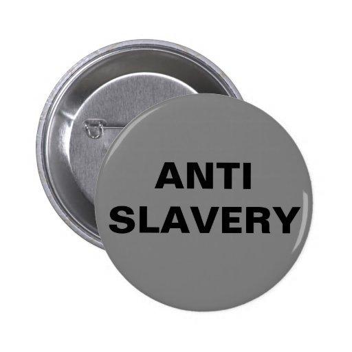 Button Anti Slavery Grey