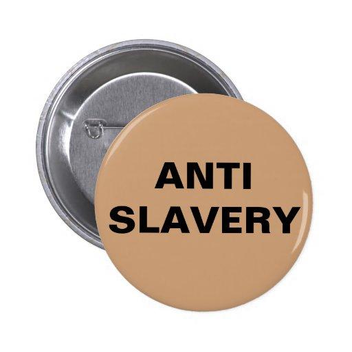 Button Anti Slavery Tan