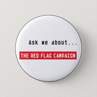 Button-Ask Me 6 Cm Round Badge