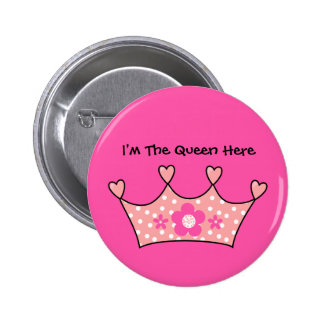 Button Baby Tots Girl I'm The Queen Here