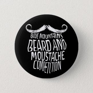 Button badge with the BMBMC beard logo
