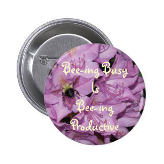 Button Bee Busy