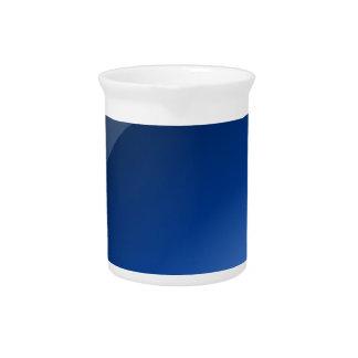button blue circle design pitcher