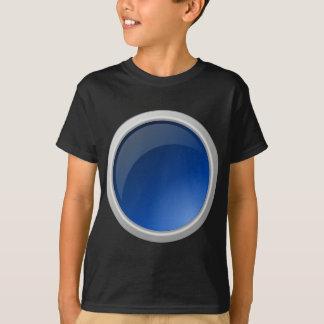 button blue circle design T-Shirt