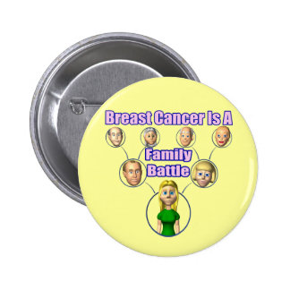Button - Breast Cancer Family Battle