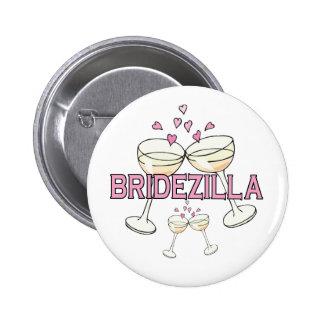 Button: Bridezilla 6 Cm Round Badge