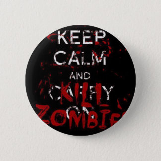 Button calm Keep and kill zombies