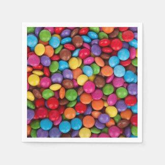 Button Candy Disposable Serviette