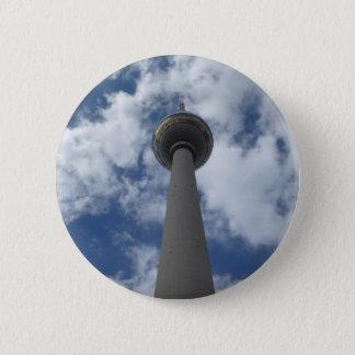 Button - citizen of Berlin TV tower
