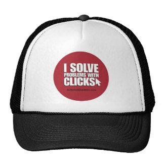 Button-Click Lid Trucker Hats