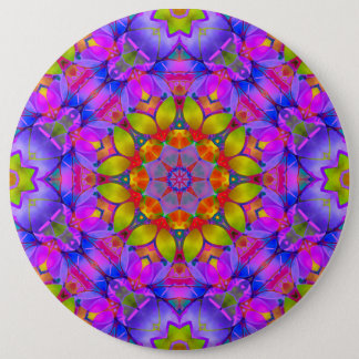 Button Floral Fractal Art G445