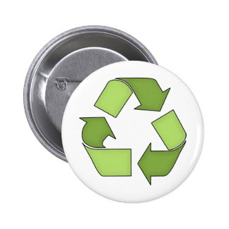 Button-Go Green-Recycle