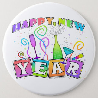 Button - HAPPY NEW YEAR