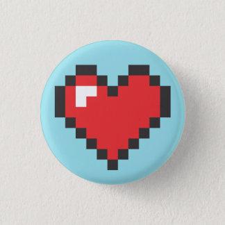Button Heart 8bits