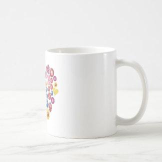 Button Hearts 0312 Mugs