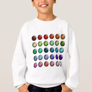 button icon about colorful shiny sweatshirt
