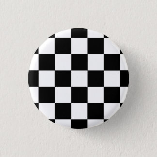 Button Karo black and white