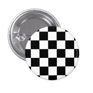 Button Karo black and white