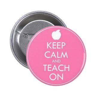Button - KEEP CALM AND TEACH ON